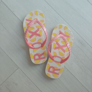 ROXY girls flip flops